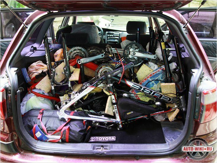 Убирайте лишнее из багажника