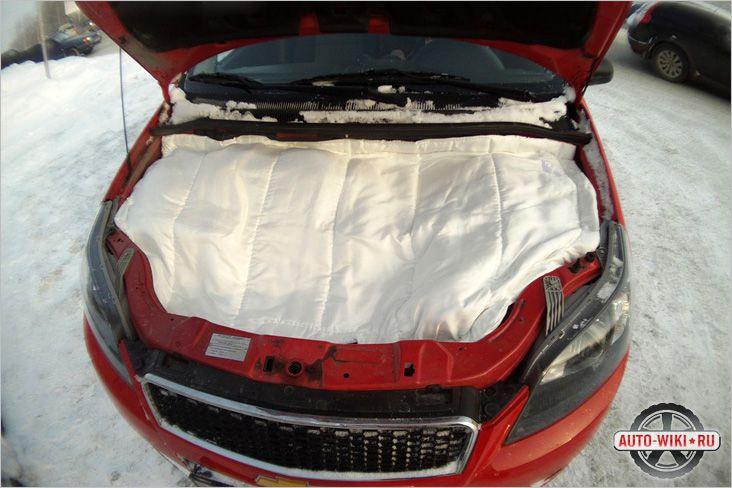 Как утеплить двигатель на зиму своими руками