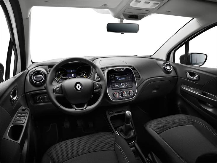 Передняя панель Renault Kaptur