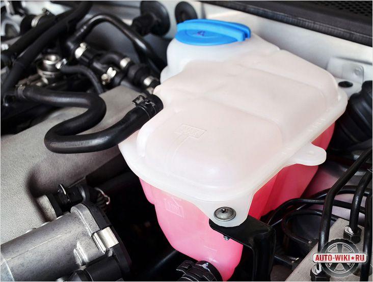 Замена или перезаливка охлаждающей жидкости