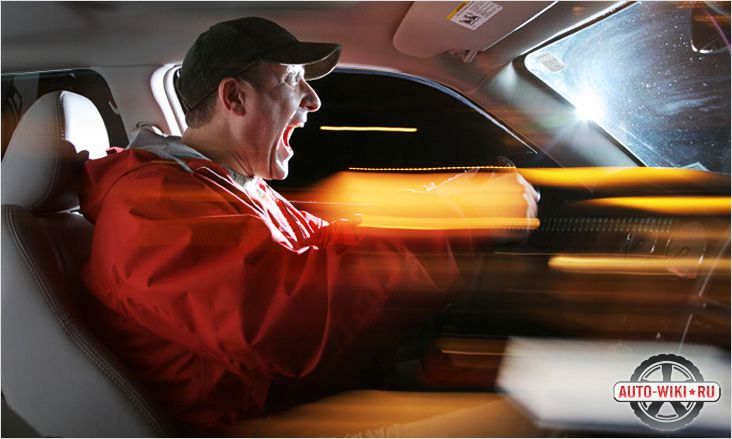 Автомобиль быстрее разгоняется