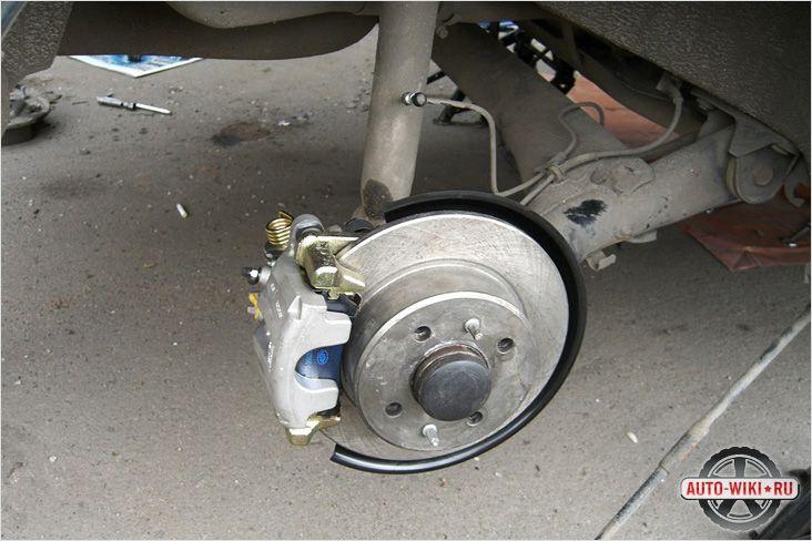 Замена барабанных тормозов на <b>дисковые</b> - как установить ...