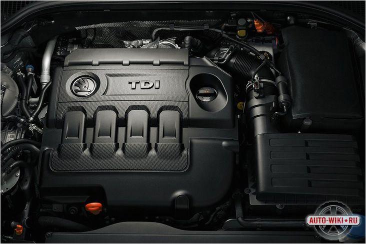 Двигатель Шкода