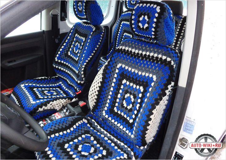 Чехлы на кресла для автомобиля своими руками