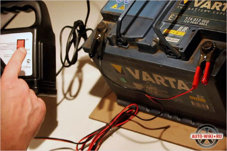 Как зарядить аккумуляторную батарею
