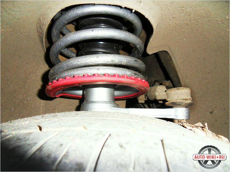 Замена задних стоек ВАЗ 2110
