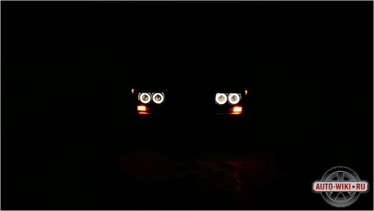 Ангельские глазки ночью