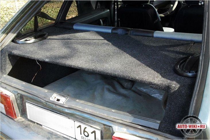 Полка багажник ваз 2109 своими руками