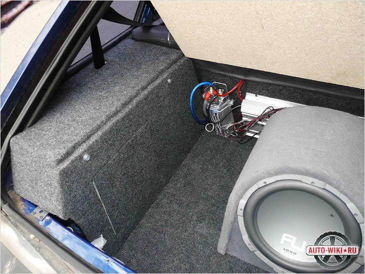 Обеспечивается хороший доступ в багажник