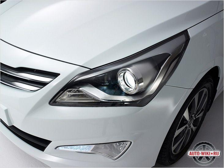 Дизайн кузова Hyundai Solaris 2014