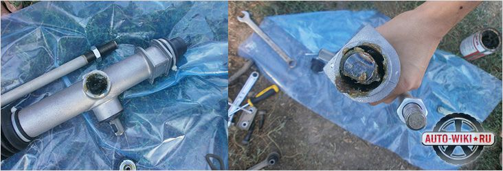 Замена сальника рулевой рейки форд фокус 2 своими руками 78