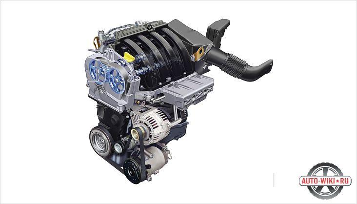 16-клапанный двигатель
