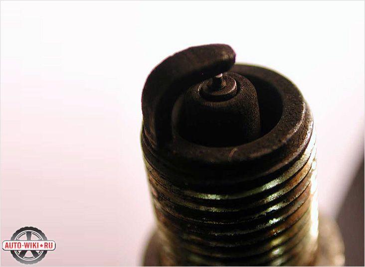 Черный бархатистый нагар