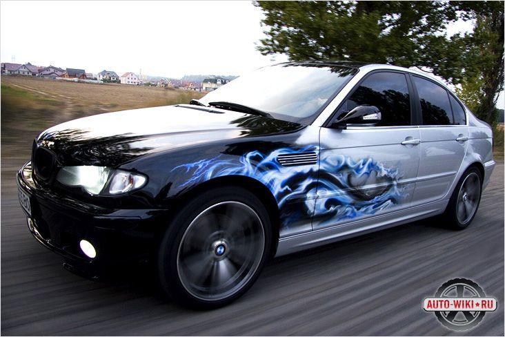 Автомобиль с аэрографией