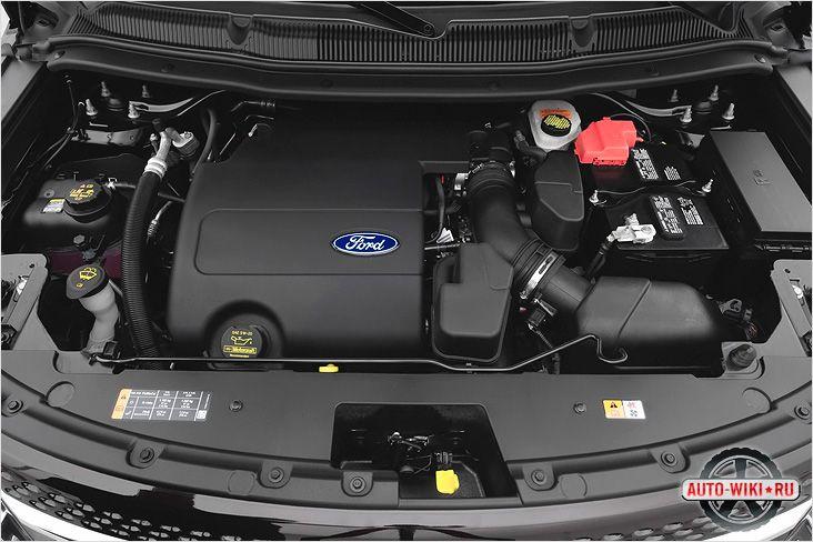 Ford Explorer под капотом