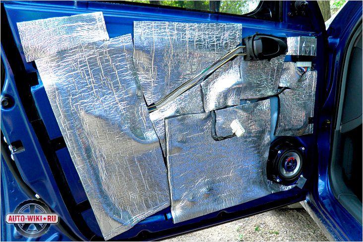 Шумоизоляция автомобиля. Фото