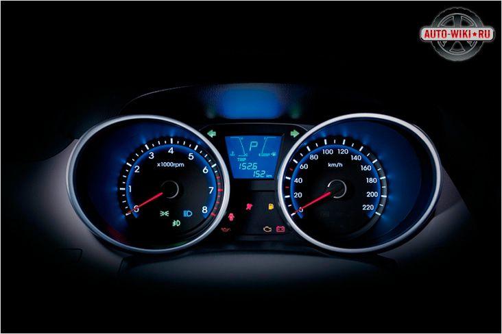 Hyundai IX35 спидометр