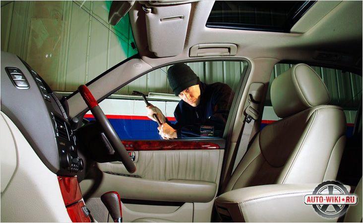 Как осуществляется угон авто