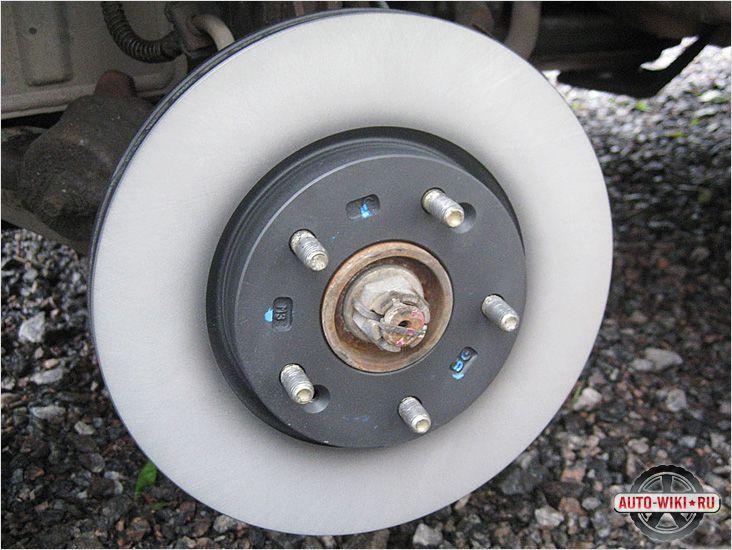 Как установить тормозной диск
