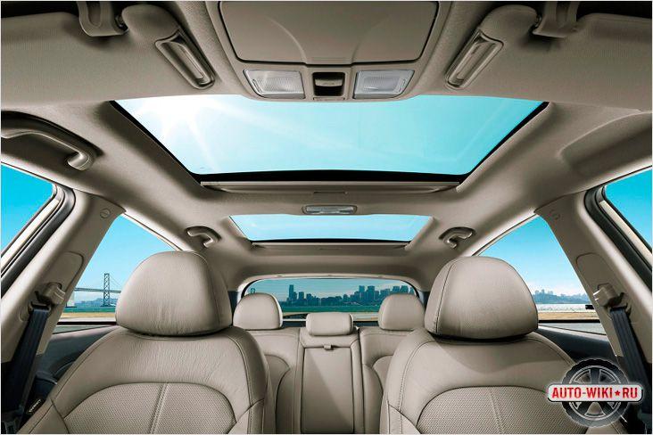 Cалон Hyundai IX35 со стеклянными люками