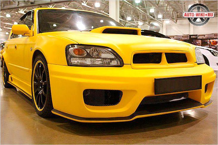 Красивый обвес Subaru