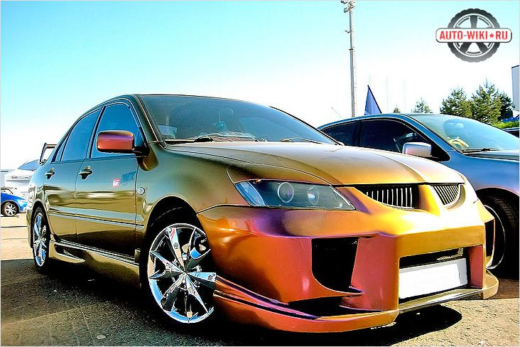 Обвесы для Mitsubishi Lancer