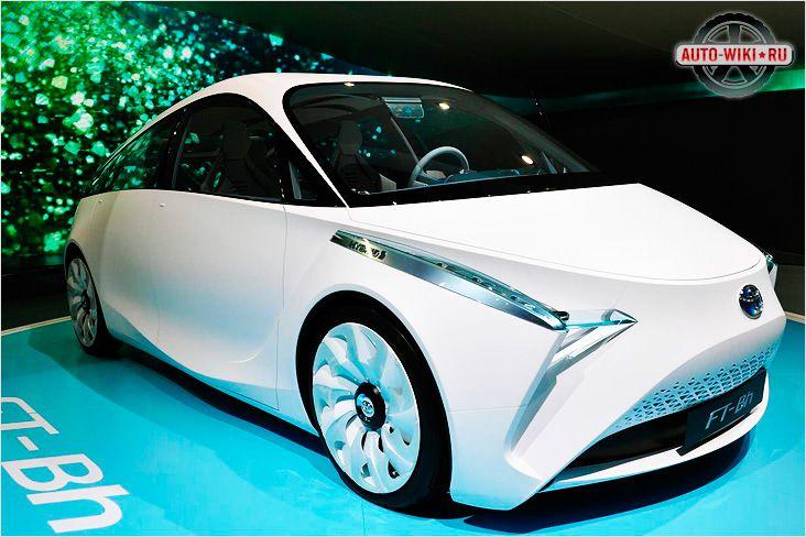 Toyota FT-Bh концепт гибрид