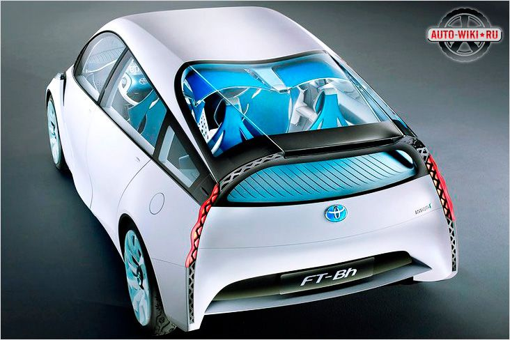 Toyota FT-Bh концепт гибрид 2