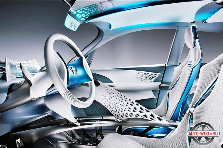 Концепт автомобиля будущего на гибридной силовой установке