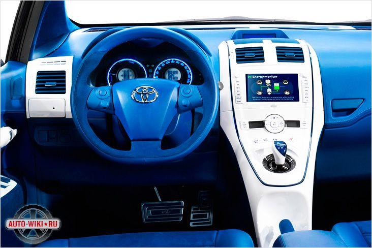 Салон Toyota FT-Bh на гибридной силовой установке