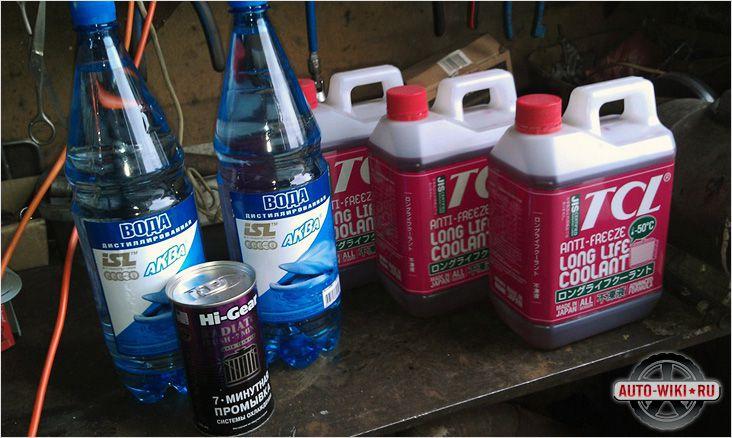 Промывочная жидкость в домашних условиях