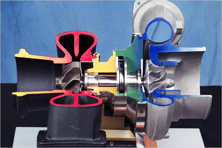 Как работает турбина 245 двигателя