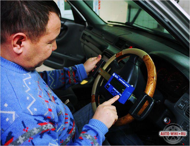 Техосмотр рулевого управления