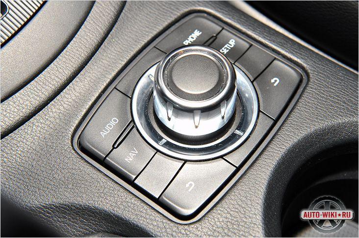 Управление мультимедиа Mazda CX-5