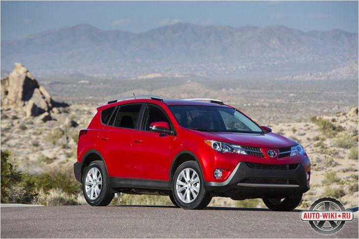 Управляемость новой Toyota 2013