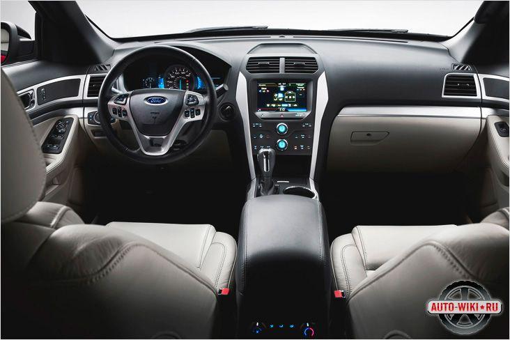 Внутренняя отделка Ford Explorer