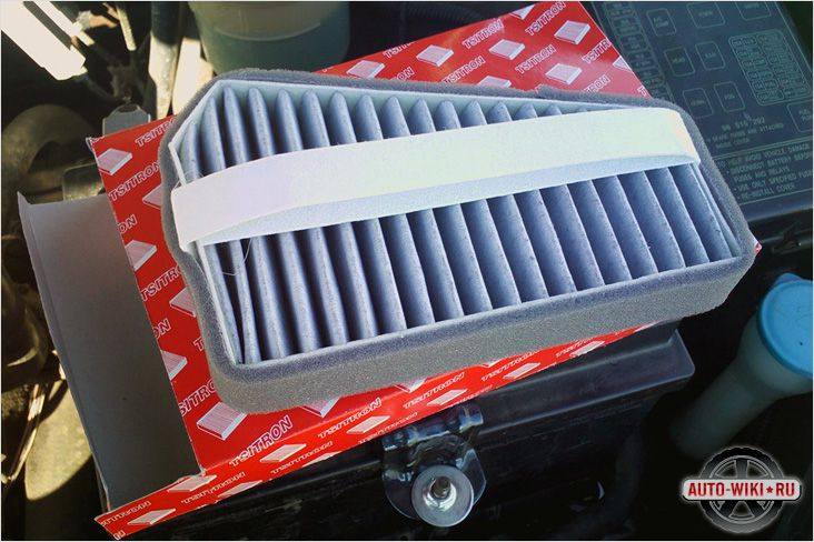 chevrolet lanos воздушный фильтр салона