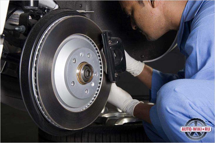 Защитное покрытие на тормозном диске